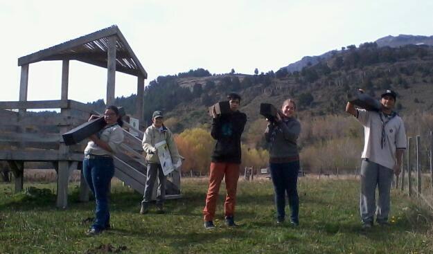 Colaboración grupo Scouts ROVER de SMA