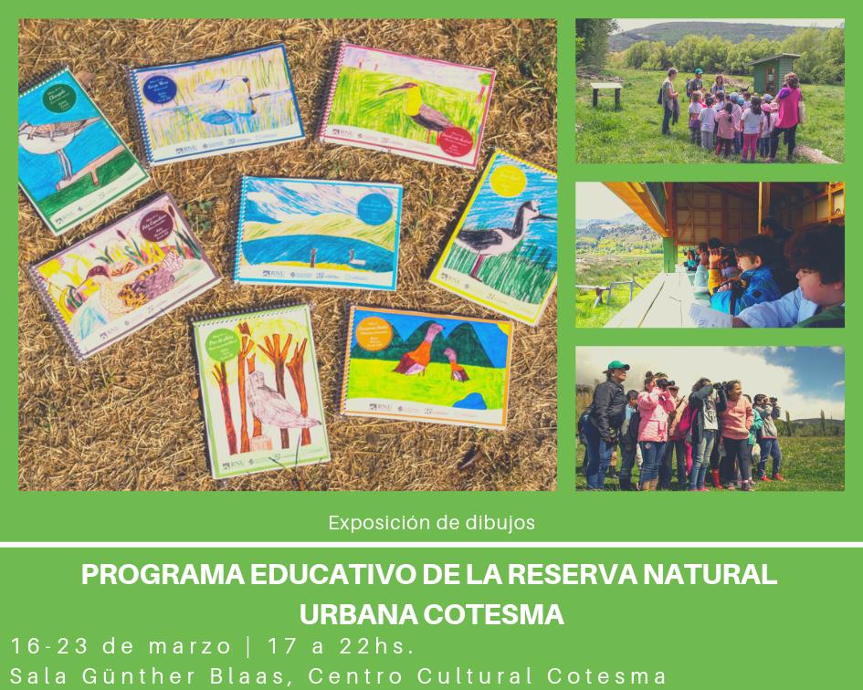EXPOSICIÓN DEL  PROGRAMA EDUCATIVO DE LA RESERVA NATURAL URBANA