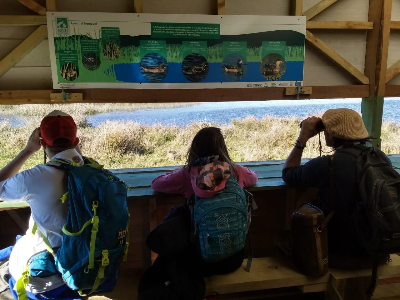 Visita de estudiantes de la Tecnicatura Superior en Gestión de Áreas Naturales